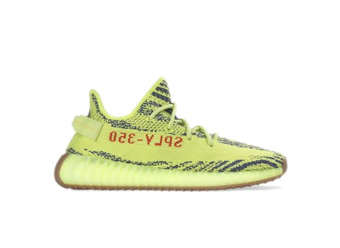 "Adidas Yeezy Boost 350 V2 ""Semi-Frozen Yellow""Raw Steel Red Online Sale"